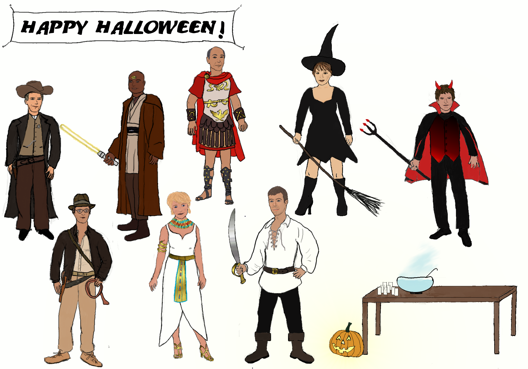 Halloween at the SGC