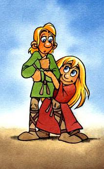 Røskva og Tjalfe